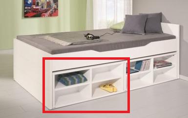 paidi fiona kira fionn ylvie unterschieberegal 2328061 in kreidewei versandkostenfrei. Black Bedroom Furniture Sets. Home Design Ideas