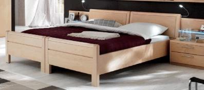 Disselkamp Comfort Twin Bett Kopfteil Stollen