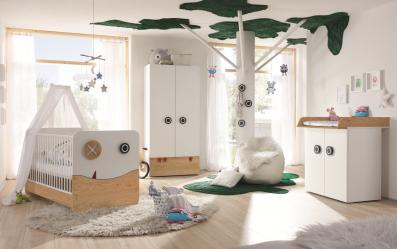 NOW by Hülsta Minimo Babyzimmer Kombination 1