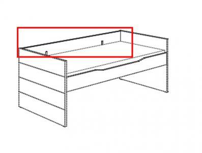 paidi fiona ylvie schutzseite f r kojenbett 1318901 und 1318921 kreidewei versandkostenfrei. Black Bedroom Furniture Sets. Home Design Ideas