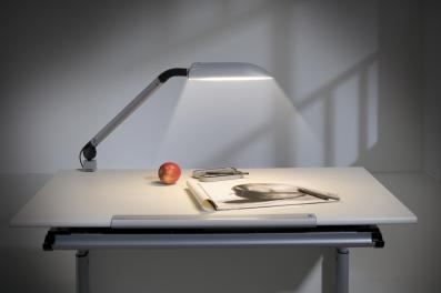 PAIDI SWING Schreibtischlampe, silberfarbig, 146 816 9, VERSANDKOSTENFREI