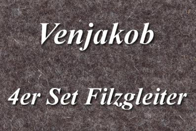 4er Set Filzgleiter von Venjakob