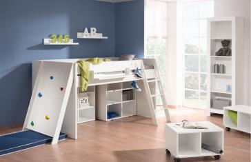 paidi fiona spielbett 140 mit schr ger leiter versandkostenfrei. Black Bedroom Furniture Sets. Home Design Ideas