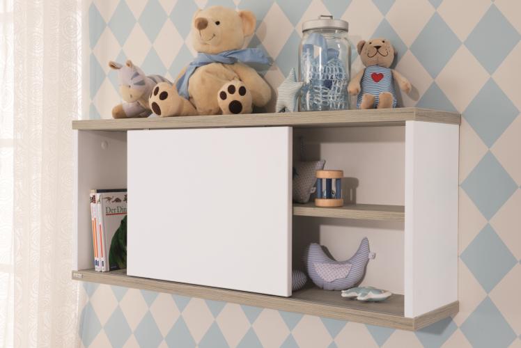 paidi carlo wandregal 1387581 mit schiebet r versandkostenfrei. Black Bedroom Furniture Sets. Home Design Ideas