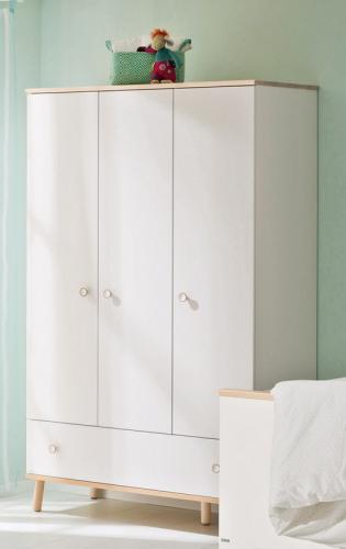 paidi ylvie kleiderschrank 3t1s versandkostenfrei. Black Bedroom Furniture Sets. Home Design Ideas
