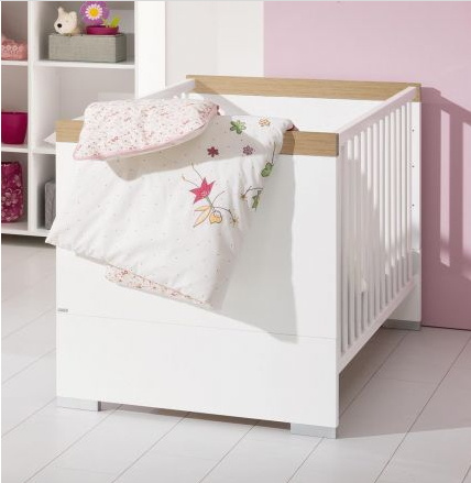 paidi kira kinderbett 70 x 140 cm in verschiedenen absetzungen versandkostenfrei absetzung eiche. Black Bedroom Furniture Sets. Home Design Ideas