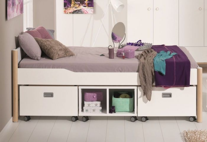 paidi fiona fionn rollregal mit diversen griffen. Black Bedroom Furniture Sets. Home Design Ideas