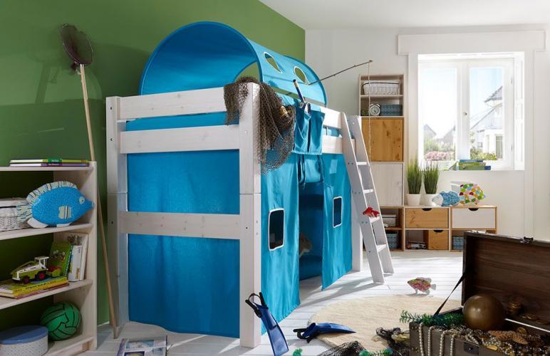 infanskids vorhang f r spielh hle in diversen farben versandkostenfrei. Black Bedroom Furniture Sets. Home Design Ideas