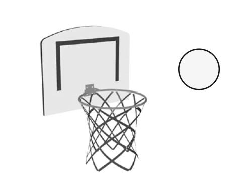 paidi basketball set f r hoch und etagenbetten 2415013. Black Bedroom Furniture Sets. Home Design Ideas