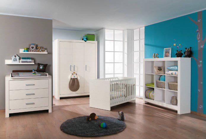 paidi fiona kinderbett 70x140cm kreidewei mit airwell comfort versandkostenfrei. Black Bedroom Furniture Sets. Home Design Ideas