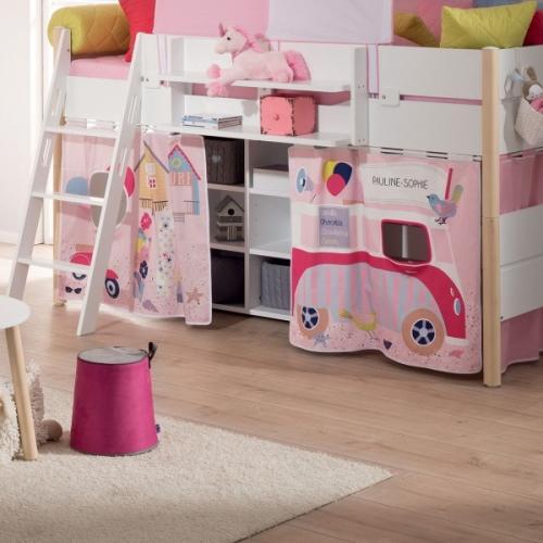 paidi vorhang set holiday hellblau oder ros versandkostenfrei holiday hellblau. Black Bedroom Furniture Sets. Home Design Ideas