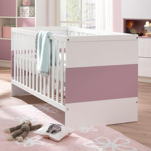 welle wellem bel malie kinderbett 66850 mit 2 gitterbettseiten korpus alpinwei. Black Bedroom Furniture Sets. Home Design Ideas