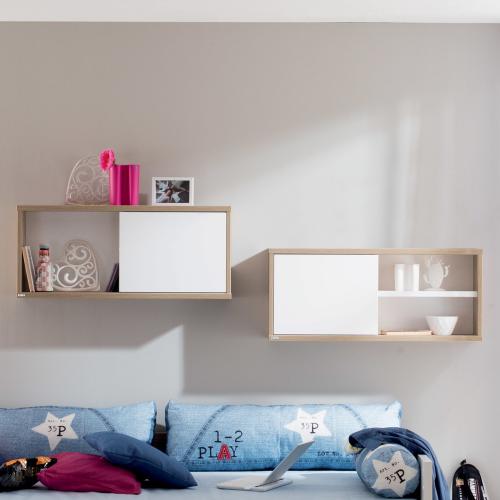 paidi fionn wandregal mit schiebet r 1317414 versandkostenfrei. Black Bedroom Furniture Sets. Home Design Ideas