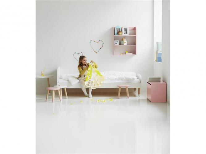 flexa play kinderbett 90x200cm inkl rollrost 80 19101 in diversen farben versandkostenfrei. Black Bedroom Furniture Sets. Home Design Ideas